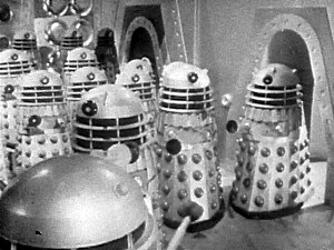 DALEKS CONQUER AND DESTROY! ... but not in the book.